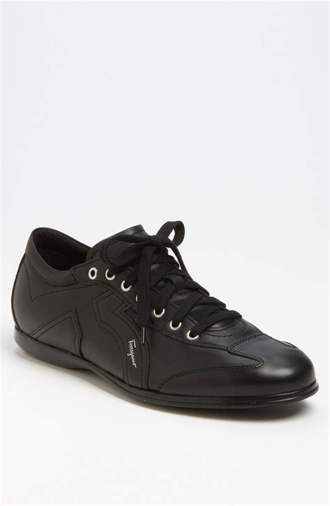 ferragamo sneaker ferragamo millie 6 sneaker in black for lyst
