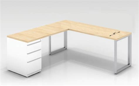 ofd office furniture 30 quot d l shaped desk 60 quot w x 72 quot l