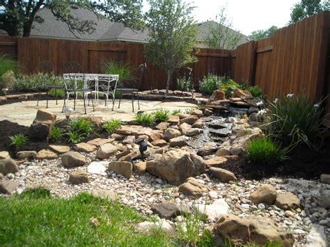 front yard rock garden landscaping rocky yard will