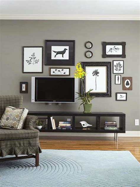 Gray Room Decor Grey Wall Color Living Room Living Room Design