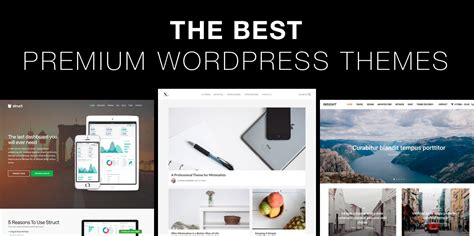 themes wordpress free premium the best premium wordpress themes of 2018