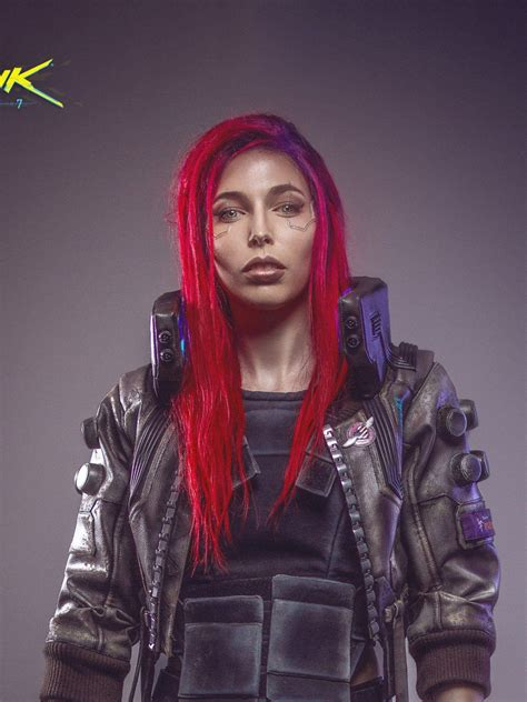 wallpaper cyberpunk cosplay female games