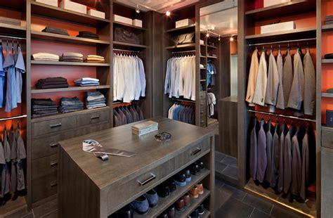 length mirror closet with track lighting