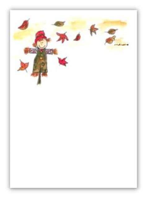 Päckchen Aufkleber Zum Ausdrucken by Briefpapier Vogelscheuche Im Herbst Kreativzauber