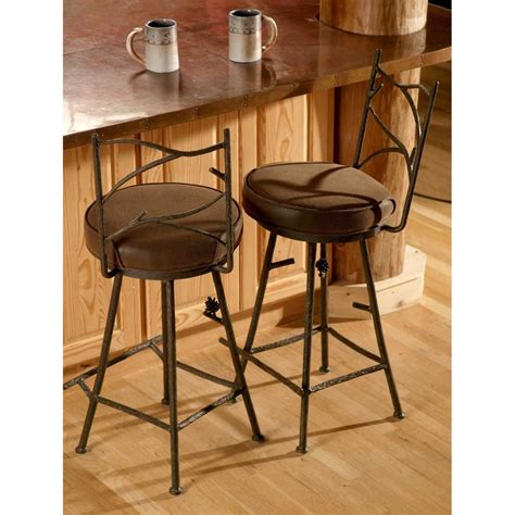 wrought iron stools counter height alternative views