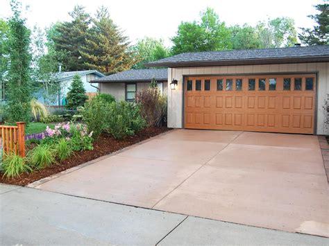 garage driveway design 26 garage door designs home remodeling ideas for basements home theaters more hgtv