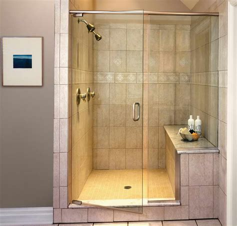 Pictures Of Small Bathrooms With Walk In Showers Doorless Walk In Showers For Small Bathrooms Studio Design Gallery Best Design