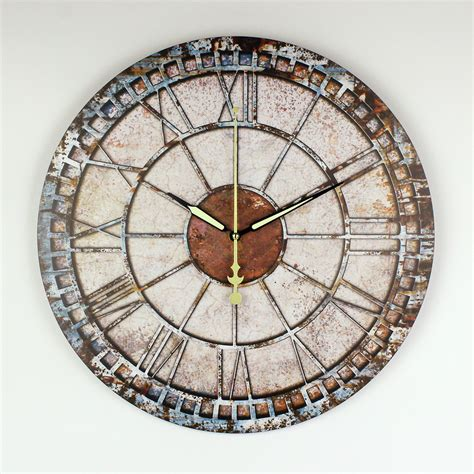 unusual wall clocks frozen decorative wall clock modern design warranty 3