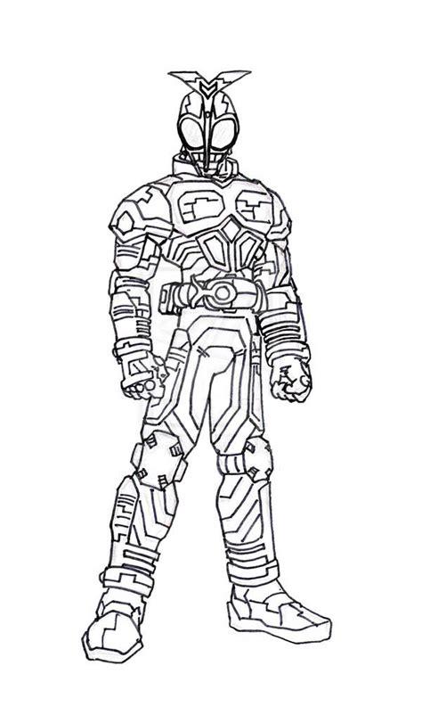 Kamen Rider Kabuto Coloring Page Netart Coloring Pages Kamen