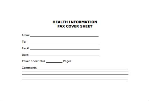 printable fax cover sheet medical sle fax cover sheet 27 free documents in pdf word