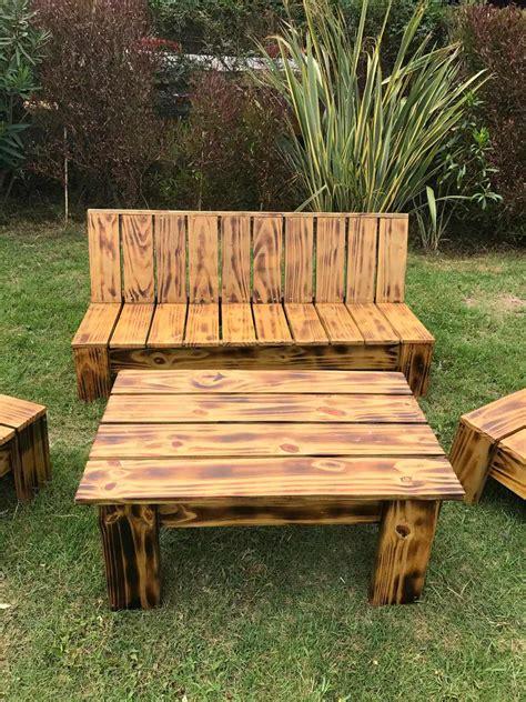 sillones jardin sillones de jardin juego de madera para exterior interior