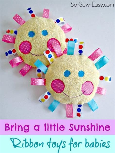 Handmade Baby Toys Patterns - free baby sewing patterns to make tiny gifts on craftsy