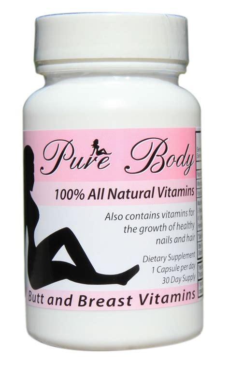 Vitamin Growfat Purebody Vitamins And Breast Growth Pills New