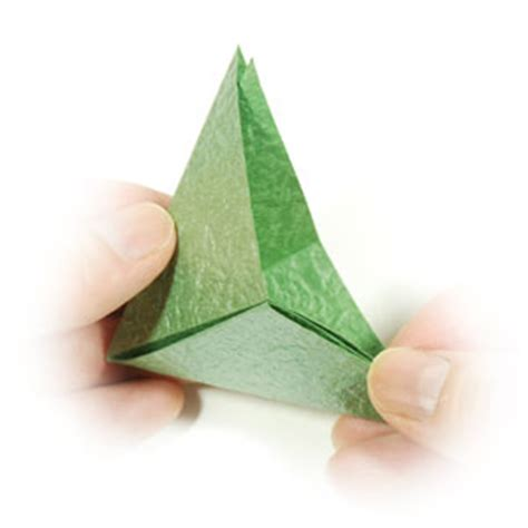Origami Calyx - how to make a supreme origami calyx page 8