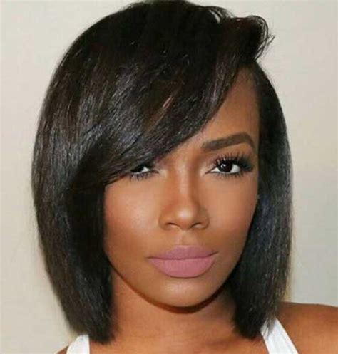 Black Hairstyles For 2017 Bobs With Bangs by Pretty Black With Bob Hairstyles Bob Hairstyles