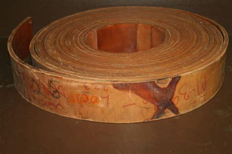 flat belt leather machine belt drive belt heavy