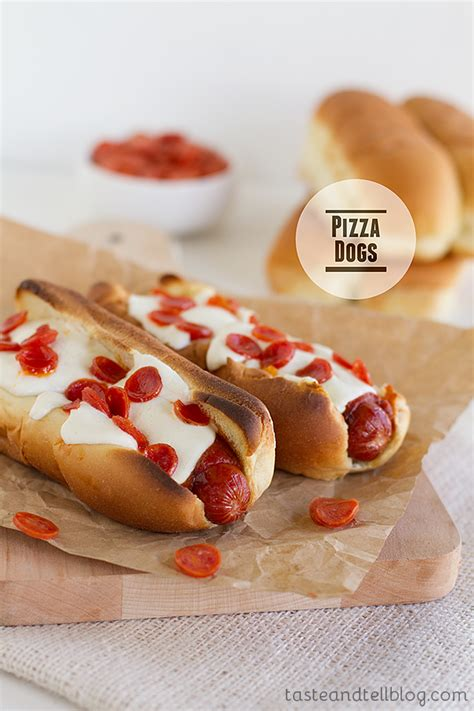 pizza puppy pizza dogs taste and tell