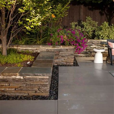 Rock Planters How To Make by Stacked Planter Bed Design A Yard To Make