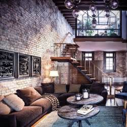 Brick Condo Furniture by Best 25 Loft Apartment Decorating Ideas On