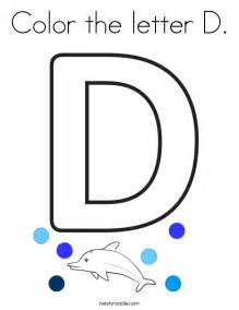 d color color the letter d coloring page twisty noodle