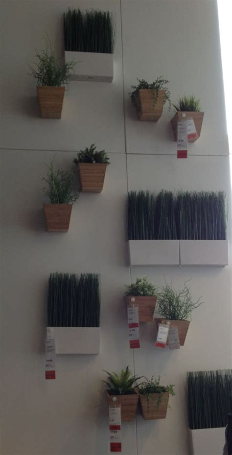 ikea wall planters apartment plant solutions pinterest