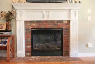 updating an brick fireplace fireplace reno
