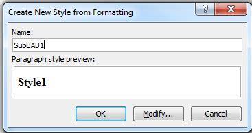 membuat format daftar isi di word 2007 tutorial membuat daftar isi otomatis di word 100 berhasil