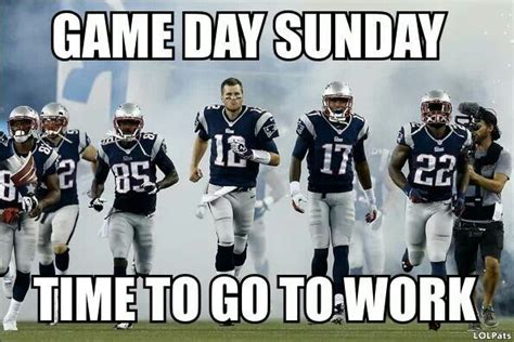 Game Day Meme - new england patriots memes game day new england
