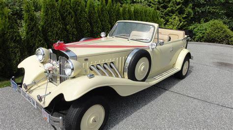 wedding cars vintage a stylish arrival vintage wedding car rental vancouver