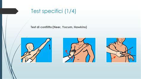 yocum test diagnosi e indicazioni al trattamento dolore di spalla