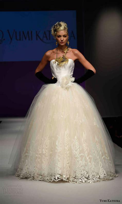 Wedding Anniversary Dresses by Yumi Katsura Fall 2016 Wedding Dresses 50th Anniversary