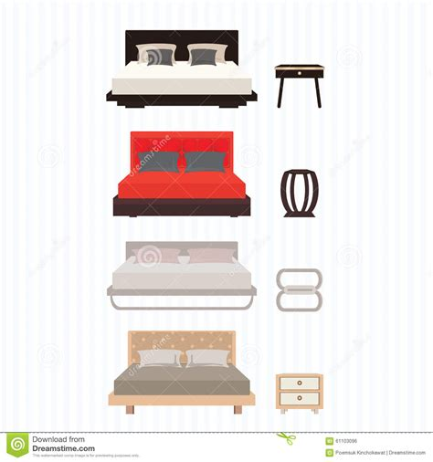 home elements interior design co bedroom furniture stock vector image of classic