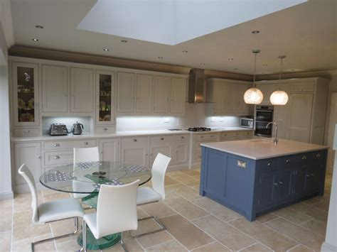 Blue and Grey Painted Kitchen ? GF Cabinet Makers