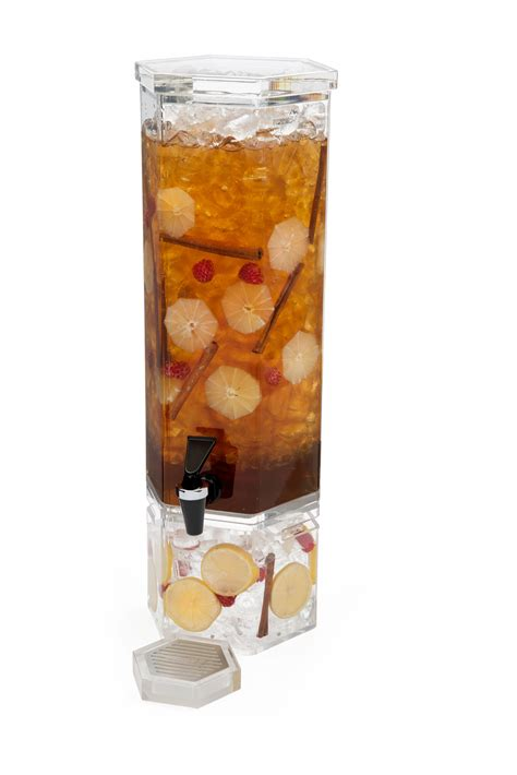 Honeycomb L Base by Rosseto Ld105 Honeycomb Acrylic Base Beverage Dispenser 2