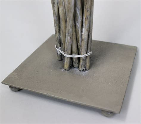 Kerzenhalter 80 Cm by Kerzenst 228 Nder 80 Cm Metall Weide Natur Kerzenhalter Hoch
