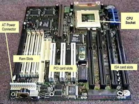 motherboard ram slots ram slot types images