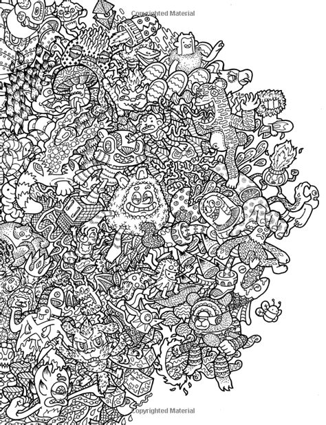 libro doodle fusion zifflins coloring doodle fusion zifflin s coloring book volume 2 zifflin lei melendres dibujos