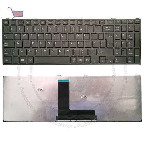 layout keyboard laptop new for toshiba satellite c50 b 15z black uk laptop