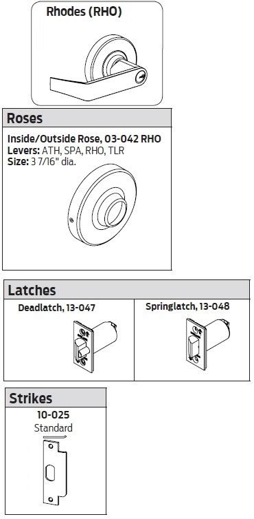 Schlage Nd80pd Rho Nd80pdrho Nd80pd Rho Storeroom Rhodes Lever Grade 1 Taylor Security Lock Schlage Nd80pd Template
