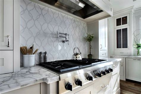 Popular Backsplashes For Kitchens Best Kitchen Backsplash Garden Design With Awesome