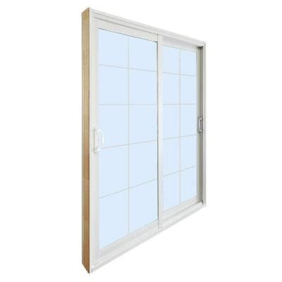 Stanley Doors 72 In X 80 In Double Sliding Patio Door Home Depot Sliding Glass Patio Doors