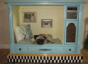 Upcycled Stereo Cabinet - a tv set turned dog house proves that anything can be repurposed photo huffpost
