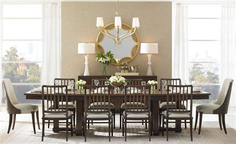 porter dining room set crestaire porter lola double pedestal extendable dining