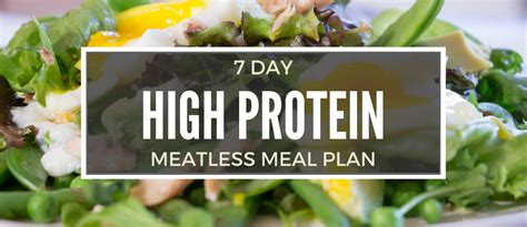protein 7 day meal plan 7 day high protein diet meal plan without any