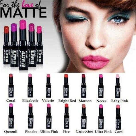 City Color Be Matte Lipstick M29 1000 images about city color on taupe colors