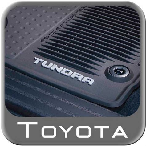 2014 2015 toyota tundra rubber floor mats all weather