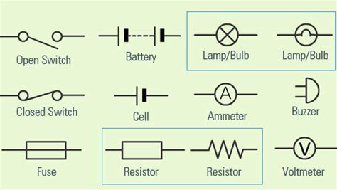 simple electrical schematic symbols efcaviation