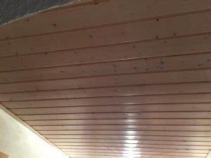 Decke Lasieren by Holzdecke Lasieren Beizen Streichen Matt Wei 223