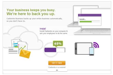 Never Data Again With Carbonite Unlimited Backuup by Carbonite Backup Your Data Is In Safe