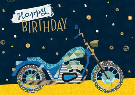Lustige Motorrad Bilder Geburtstag by Motorcycle Happy Birthday Happy Birthday Cards Send